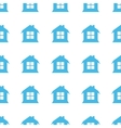 Unique House seamless pattern vector image vector image