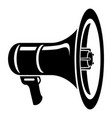 voice amplifier icon simple style vector image
