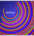 abstract background colorful circles with vector image vector image