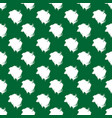 abstract seamless small elements on a green vector image