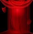 black room vector image