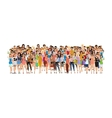 Group of woman vector image vector image