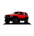 off road car vector image vector image