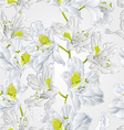 Seamless texture rhododendron white flower vector image vector image