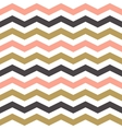 Seamless Zigzag Pattern in pastel colors vector image