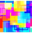 Abstract glossy square background pattern vector image
