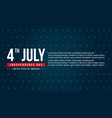 background style of independence day collection vector image vector image