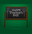 Banner or poster for happy teacher s day with