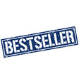 bestseller square grunge stamp vector image vector image
