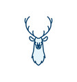 hunting logo icon design vector image
