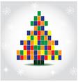 Pixelated Christmas tree