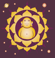 spring Lotus Buddah yantra vector image vector image