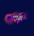 best banner sale original poster discount vector image vector image