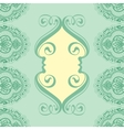 lace design template vector image vector image