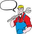 Plumber master3 resize vector image vector image