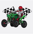 printatv race championship vector image vector image
