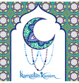 Ramadan Kareem means Ramadan the Generous Month vector image