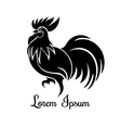 Rooster logo vector image vector image