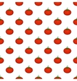 Tomato pattern cartoon style vector image