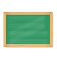 Wooden blackboard vector image