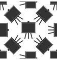 Chalkboards icon pattern vector image vector image
