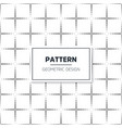 geometric pattern background vector image vector image