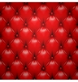 Red upholstery leather pattern background vector | Price: 1 Credit (USD $1)