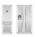 refrigerator 03 vector image vector image