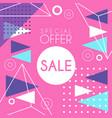 Sale banner template design special offer