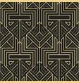 Abstract art deco geometric pattern