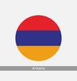 armenia round circle flag