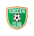 Best soccer club logo vector image vector image