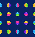 colorful circle pattern texture background in vector image vector image