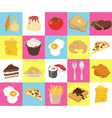 Food Texture vector image vector image
