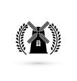 Mill design vector image