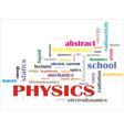 science words vector image vector image