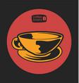 coffee shop 13 vector image vector image