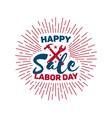 labor day - national holiday usa vector image vector image