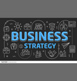 lines template business strategy vector image vector image