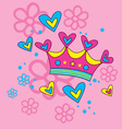 Lovely Crown vector image vector image