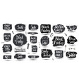 set hand drawn grunge sale banners vector image vector image
