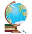 Abstract Cartoon Globe2 vector image vector image