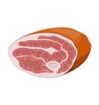 beef tenderloin pork knuckle vector image vector image