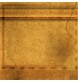 brown leather background vector image vector image
