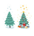 clip-art for design and new year a set vector image