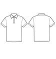 Polo t-shirt vector image vector image