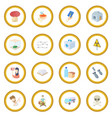 refugees icon circle vector image vector image