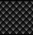 seamless geometrical abstract square pattern vector image vector image