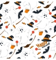 Seamless pattern design flat of vector image