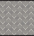 seamless pattern geometric striped ornament vector image vector image